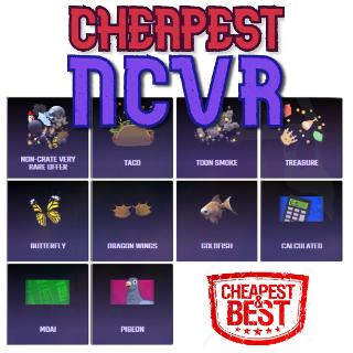 Bundle | 50x NCVR (Non-Crate Vr)