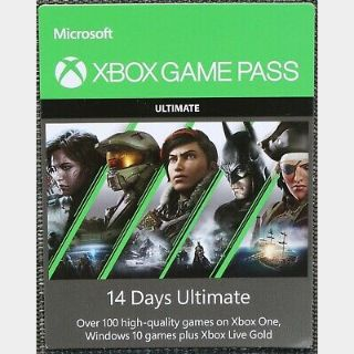 Xbox Game Pass Ultimate + EA Access 14-Days Xbox One / Series SIX