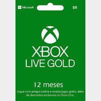 Xbox Live Gold 1 year Brazil