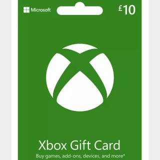 £10 GBP Xbox Gift Card UK 🇬🇧[INSTANT DELIVERY]