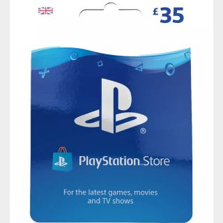£35 GBP Playstation Store UK 🇬🇧[Instant Delivery]
