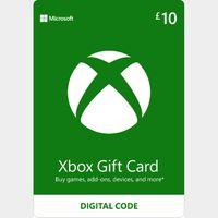 £10.00 Xbox Gift Card Key/Code 🇬🇧 UK Account
