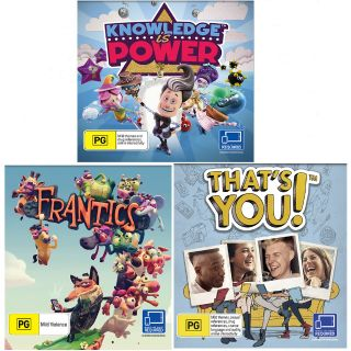 Kit: Frantics+ That's You!+ Knowledge is Power (PS4 Digital Code)