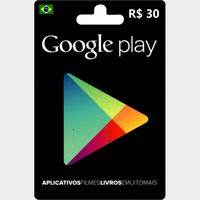 Google Play Gift Card (BR - Brazil) 30,00 R$ 🇧🇷