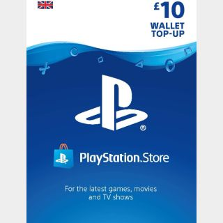 £10.00 Playstation Store 🇬🇧  Key/Code UK Account [𝐈𝐍𝐒𝐓𝐀𝐍𝐓 𝐃𝐄𝐋𝐈𝐕𝐄𝐑𝐘]