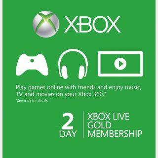 Xbox Live Gold 2 days [𝐈𝐍𝐒𝐓𝐀𝐍𝐓 𝐃𝐄𝐋𝐈𝐕𝐄𝐑𝐘]