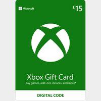 £15.00 Xbox Gift Card Key/Code 🇬🇧 UK Account