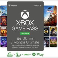 3-Month Xbox Game Pass Ultimate Xbox One / Win 10 PC  (Global Code)