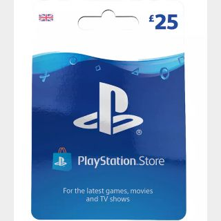 £25 GBP Playstation Store UK 🇬🇧 [Instant Delivery]
