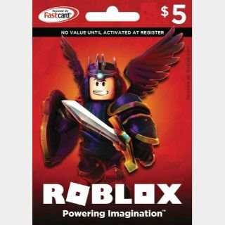 $5.00 Roblox Gift Card Digital Pin Delivery