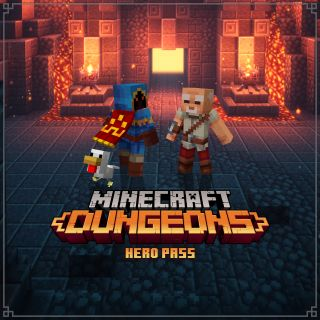 Minecraft Dungeons Hero Pass Upgrade [Digital Code]