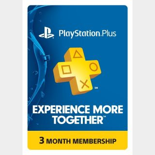 PS Plus 3 Month US [𝐈𝐍𝐒𝐓𝐀𝐍𝐓 𝐃𝐄𝐋𝐈𝐕𝐄𝐑𝐘]
