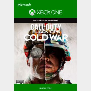 Call of Duty Black Ops Cold War Xbox One Standard Edition GLOBAL