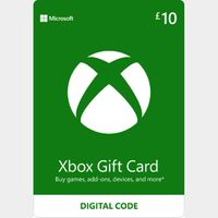 £10.00 Xbox Gift Card Key/Code UK Account