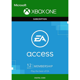 EA Access 12 Month Membership (Key/Code Global)