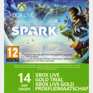 Xbox Live Gold 14 Days 2 week [INSTANT DELIVERY]