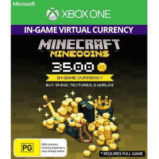 Minecraft: Minecoins Pack: 3500 Coins [Instant Delivery]