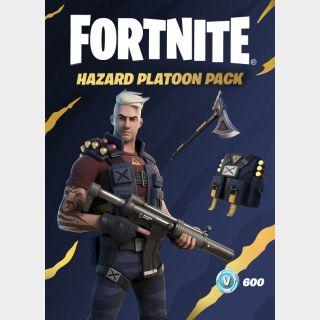 Fortnite - Hazard Platoon Pack + 600 V-Bucks XBOX LIVE