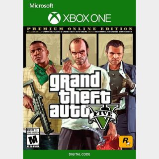[US🇺🇸]Grand Theft Auto V 5: Premium Online Edition [Xbox One, X|S]  [Instant]