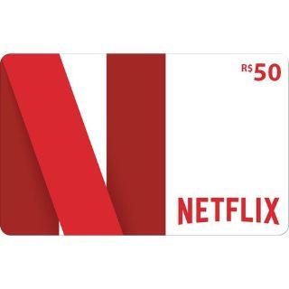 🇧🇷50 R$ Netflix Brazil Gift Card (BRL)