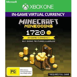 Minecraft: Minecoins Pack: 1720 Coins [Digital Code]