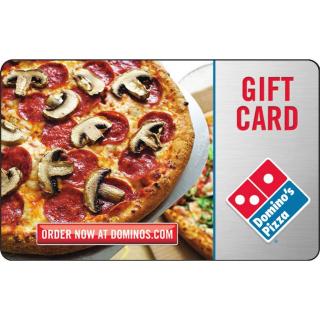 $10.00 Domino's Pizza {2 x 5$ eGiftcard}