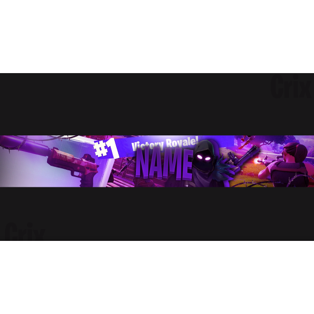 Custom Fortnite Banner Logo For Youtube Or Twitch Other