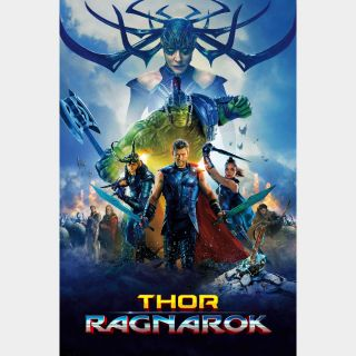 Thor: Ragnarok / 4K UHD / Movies Anywhere / iTunes / VUDU