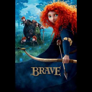 Brave - 4K UHD / Movies Anywhere / VUDU