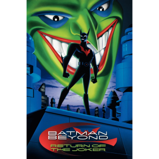 Batman Beyond: The COMPLETE SERIES including - Return of the Joker / HD / wb.com/redeemdigital / VUDU / MA