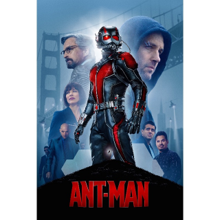 Ant-Man -- HDX on MA - Code Not Split - DMR Points NOT Included