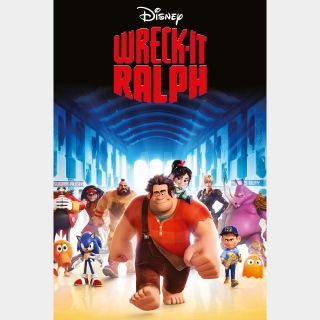 Wreck-It Ralph / HD / Movies Anywhere