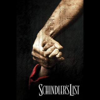 Schindler's List / MA / 4K UHD