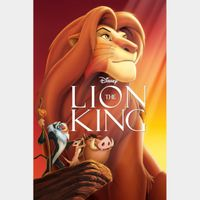 The Lion King / 4K UHD / Movies Anywhere / VUDU