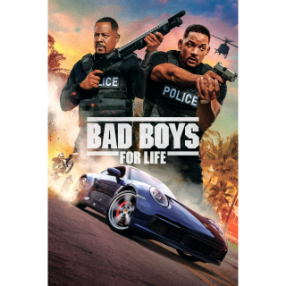 Bad Boys for Life / 4K UHD / MoviesAnywhere