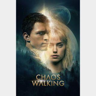 Chaos Walking / 4K UHD / Vudu / iTunes / Fandango via movieredeem.com