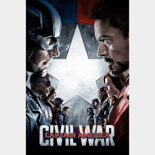 Captain America: Civil War / HD / Movies Anywhere