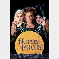 Hocus Pocus / HD / Movies Anywhere / iTunes / VUDU (HDX)