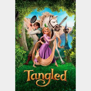 Tangled / HD / Movies Anywhere / iTunes / VUDU