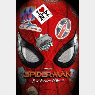 Spider-Man: Far from Home / 4K UHD / Movies Anywhere