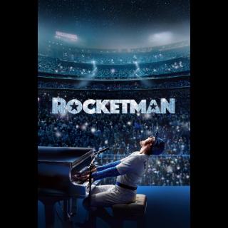 ROCKETMAN  / 4K UHD / paramountmovies.com VUDU or iTunes
