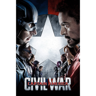 Captain America: Civil War / MA / UHD 4K / No DMR points