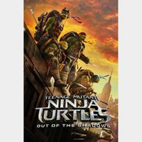 Teenage Mutant Ninja Turtles: Out of the Shadows / HD / iTunes (Might redeem in 4K, but no guarantee)