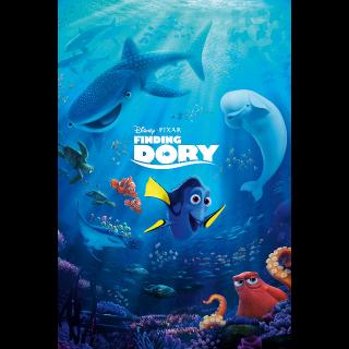 Finding Dory / 4K UHD / Movies Anywhere / VUDU