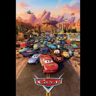 Cars / 4K UHD / Movies Anywhere / VUDU