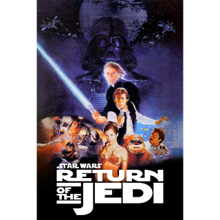 Return of the Jedi / HDX / Movies Anywhere / iTunes / VUDU