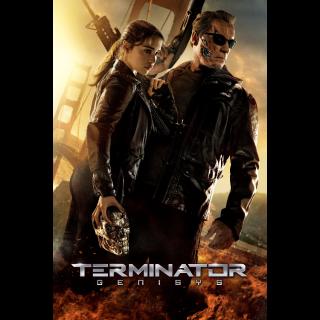 Terminator Genisys / 4K UHD /  Vudu / AppleTV / FandangoNOW