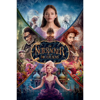 The Nutcracker and the Four Realms / 4K UHD / MA / No DMR points