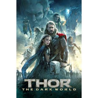 Thor: The Dark World / UHD 4K / MA / No DMR points