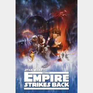 The Empire Strikes Back / 4K UHD / Movies Anywhere